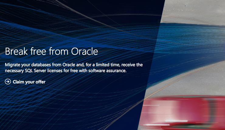 SQL Server 2016 officially released, Oracle migration offer still available